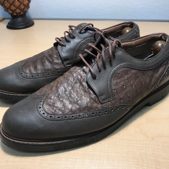 Golf Shoes Tommy Bahama Leather Ostrich